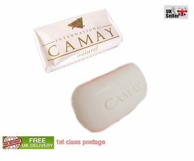 New Camay International Natural Soap 125g Bar 1st postage free UK Delivery