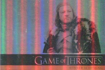 Game of Thrones Season 1 Parallel Chase Card Set
