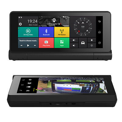 4G 7 Inch HD Touch Screen Car GPS Navigation Bluetooth FM Android Wifi with DVR