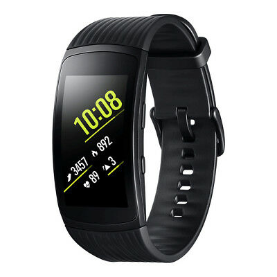 NEW Samsung Gear Fit2 Pro (SM-R365) GPS Sports Band Smart Watch BLACK SMALL