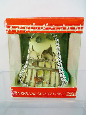 Musical Bell Plays Anniversary Song - Deichert KG - Made in Western Germany