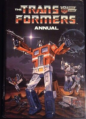 Transformers UK Annual 1986 Good condition unclipped Hard Back Marvel/Grandreams