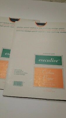 """Black Carbon Reusable Paper 8 1/2"""" x 11"""" Good for Tracing,Stenciling"""