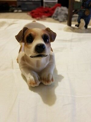 Vintage dog collectible  phone holder jack russell terrier
