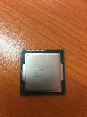 Used intel i7 4790k CPU Only