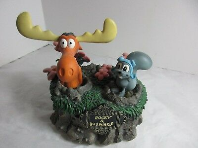 Rocky and Bullwinkle Musical Box with Original Box