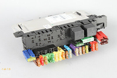 03 08 Mercedes R230 SL500 SL550 SAM Fuse Box 2005 mercedes benz sl500 r230 1 rear right storage compartment  at reclaimingppi.co