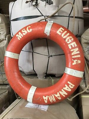 Vintage Nautical Life Buoy Ring Maritime Original