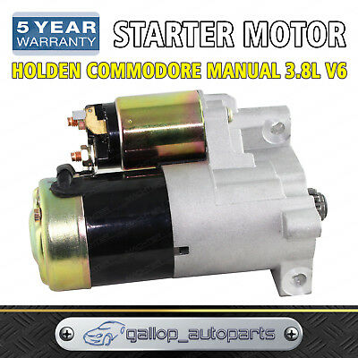Starter Motor for Holden Commodore 3.8L V6 VN VP VR VS VT VX VY Manual Trans
