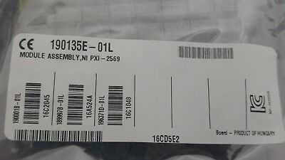 National Instruments NI PXI-2569 100 SPST Relay Module **NEW**