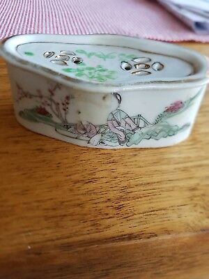 antique chinese cricket box