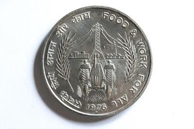 FAO / F.A.O. India 10 Rupees 1976  - uncirculated