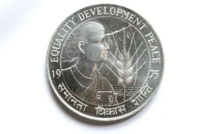 FAO / F.A.O. India 50 Rupees 1975  - uncirculated - silver
