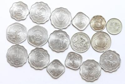 FAO / F.A.O. India - lot of 17 coins - uncirculated