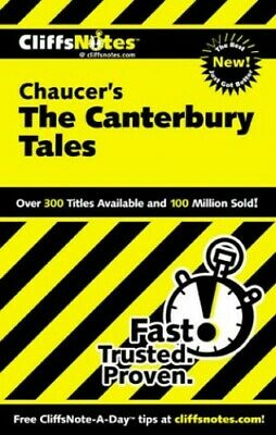Notes on Chaucer's Canterbury Tales (Cliffs No... by Roberts, James L. Paperback