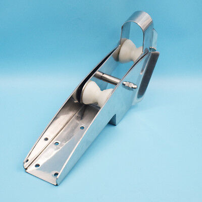 316 Stainless Steel Hinged Self-Launching Bow Anchor Roller 16.5'' Type Improved
