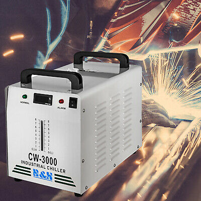 USA S&A 220V CW-3000DG Industrial Water Chiller for 60W / 80W CNC Laser Engraver