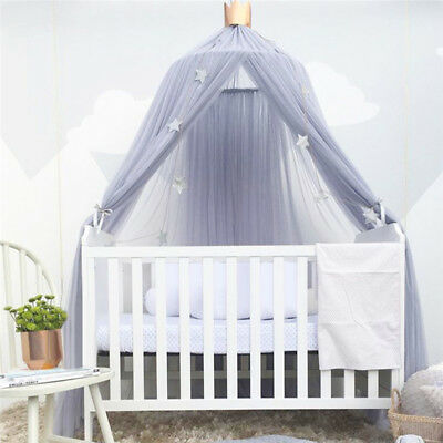 Kids Baby Bedcover Mosquito Net Curtain Bed Canopy Bedding Dome Tent Home Decor