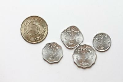 FAO / F.A.O.  Pakistan  - lot of 5 coins - uncirculated