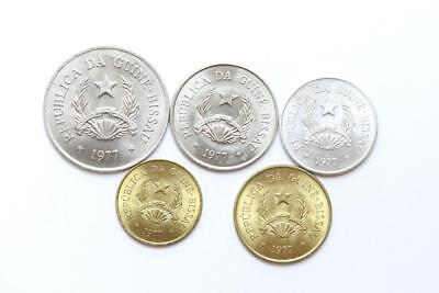 FAO / F.A.O.  Guinea Bissau - lot of 5 coins - uncirculated
