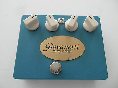Giovanetti Hand Wired Zen Overdrive ,made In Italy,introvabile...