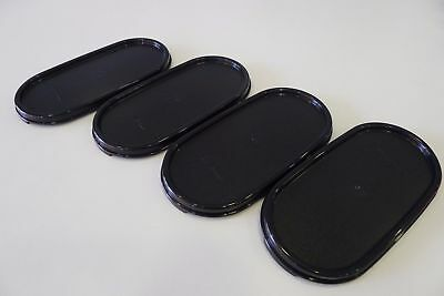 TUPPERWARE Modular Mates Oval Seal Lid Cover (Black / Red) + Free Shipping