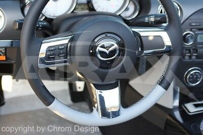Steering Wheel Cover Cover 3 pcs Mazda MX-5 Type NC