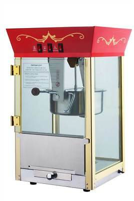 Red Matinee Movie Eight Ounce Antique Popcorn Machine [ID 60942]