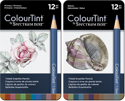 SPECTRUM NOIR ColourBlend and/or AquaBlend Artist Pencils Crafters Companion