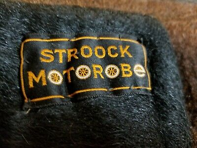 Antique STROOCK (With Label) Horse Buggy Carriage Sleigh Lap Rob Blanket ESTATE