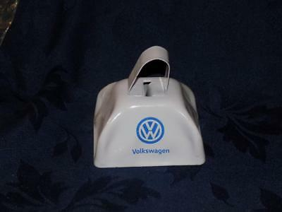 Volkswagen VW Das Auto cow bell /COWBELL- White & Blue-metal