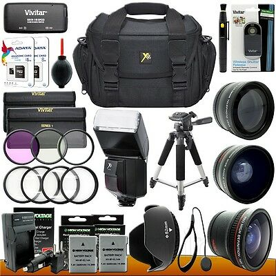 Nikon D3300 D3200 D5300 D5200 DSLR Camera Everything You Need Accessory Kit 52mm