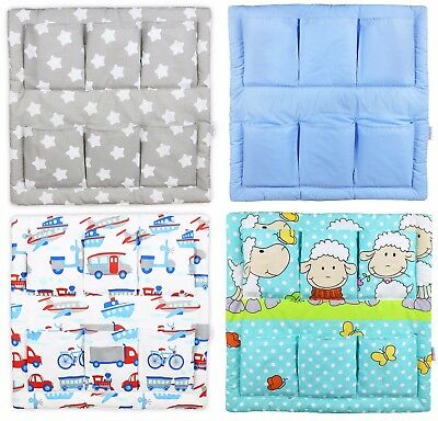 Tidy Organiser Cot Bed Nursery Hanging Storage Many Designs 6 Pockets Babymam