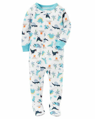 NEW Carter/'s Boys 1 Piece Puppy Dog Sunglasses PJs NWT 12m Jersey Loose Fit