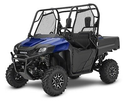 New 2017 Honda Pioneer 700 2 Sxs700 Deluxe Eps Blue Blowout Sale No Hidden Fees