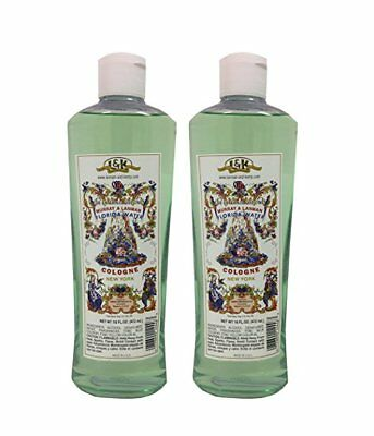 Florida Water Cologne New York 16 oz large size PACK OF 2