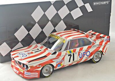 NEW 1/18 Minichamps 155772571 BMW 3,0 CSL, 24hrs LeMans 1977, #71