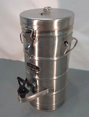 SUPER CHEF 320 Stainless Steel 2 Gal INSULATED BEVERAGE DISPENSER Coffee Urn Pot