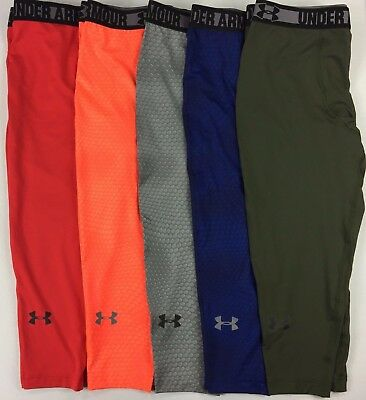 Men's Under Armour Heatgear UPF 30 Three-Quarter Length Compression Pants
