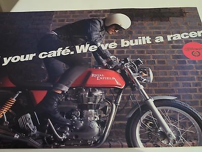 Royal Enfield Continental GT 500 Motorcycle Sales Brochure 2013