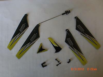 Syma Black S107G RC Helicopter Replacement Parts Set
