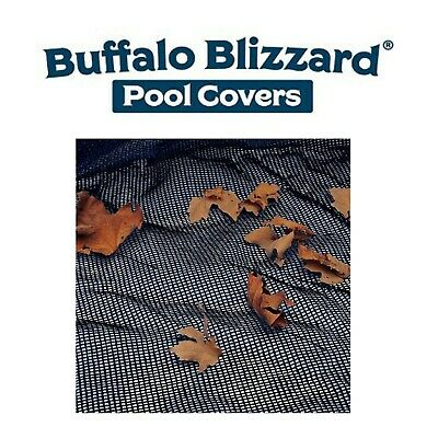 Buffalo Blizzard Round, Oval Rectangle Swimming Pool Leaf Net Cover Choose Size