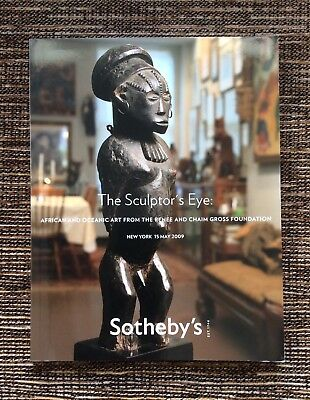 RARE 2009 Sotheby's Auction Catalog: African and Oceanic Art, Gross Foundation