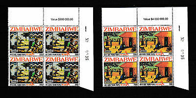 Zimbabwe 2005 HIV/Aids Sheet No. 0035, MNH