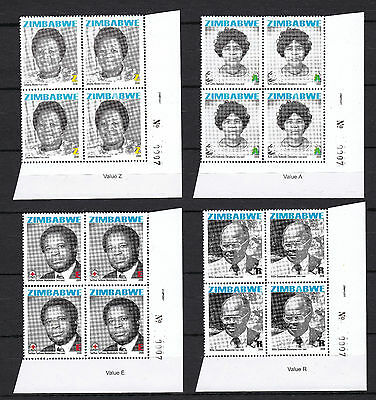 Zimbabwe 2008 Heroes Sheet No. 0007, MNH / Red Cross