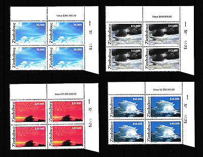 Zimbabwe 2005 Clouds Sheet No. 0075, MNH