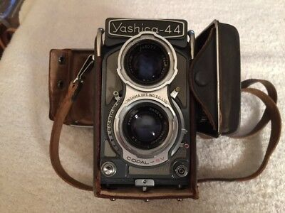 Yashica -44 Camera Nice Condition COPAL-SV