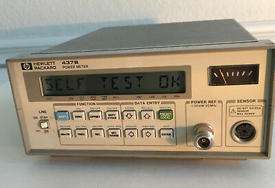 HP 437B Programmable Power Meter Opt:003 TESTED