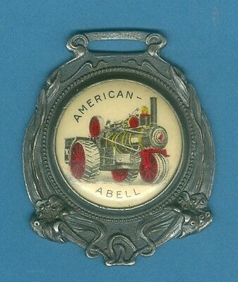 American Abell Watch Fob Hoover AAD-2 Antique Allis Chalmers Rumely Advertising