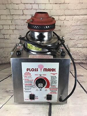 Gold Metal Floss Maxx Cotton Candy Machine 220V Model 3077 Ex